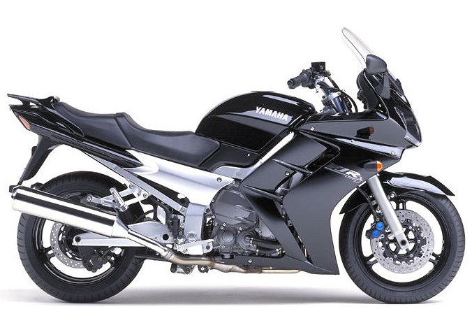 the usa will be getting only the silver (initial priority deliveries)  the  2003 yamaha fjr1300