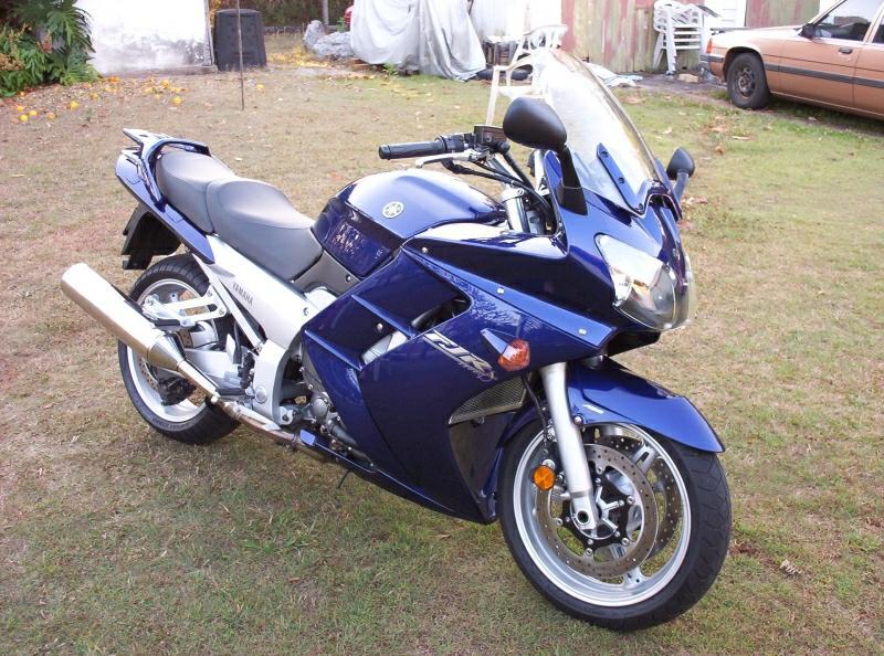 Yamaha Galaxy Blue Paint