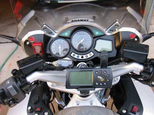 Installing A Datatool Digital Gear Indicator On An Fjr1300