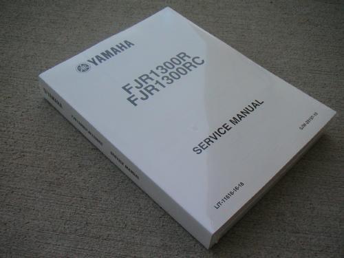 Yamaha fjr1300 2006 2007 repair service manual download download.